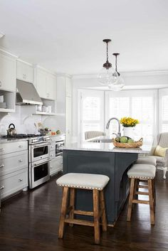 Modern White Kitchen Cabinets #17 (Alno.com, Kitchen-Design-Ideas ...
