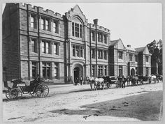 St Mary's Hospital in Hobart,Tasmania.Now the Lands Department.