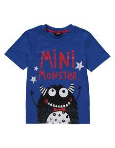 Mini Monster T-shirt | Kids | George at ASDA