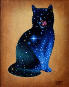 Celestial Cat by David Garvey