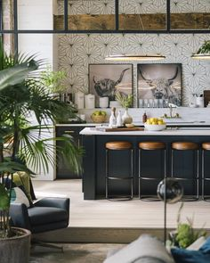 Industrial style 707276316460482714 - Un loft de style industriel dans le Firestone Building – PLANETE DECO a homes world Source by smittenjewelry Home Interior, Kitchen Interior, Kitchen Decor, Interior Design, Art Deco Kitchen, Loft Kitchen, Open Kitchen, Kitchen Ideas, Kitchen Rack