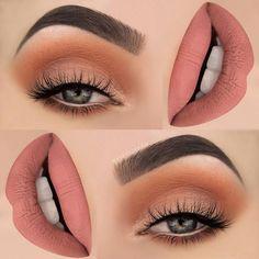 #SpringMakeup #Maquillaje #primavera #mouth #lips #eyes