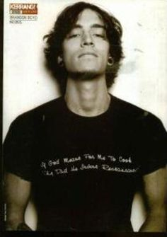 Brandon Boyd of Incubus. In this photo, he is my imaginary boyfriend. lol