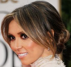 Giuliana Rancic Loose Bun - Giuliana Rancic Hair - StyleBistro