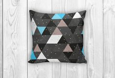 Colorful Abstract Retro Decorative Pillows