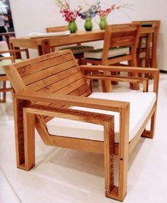Outdoor Wooden Chairs deck chair plans - outdoor furniture plans & projects