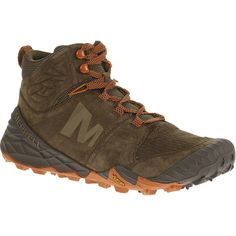 Men - All Out Terra Turf Mid - Brown | Merrell