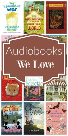 Audiobooks are one of my favorite homeschool resources. Look through this list of our favorite audiobooks for kids.