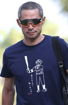 イチロー 浜田Tシャツ第2弾「肩もわりかし強いほうやし」