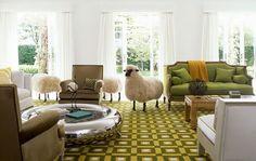 design traveller: A flock of sheep: Hans-Peter Krafft and François-Xavier Lalanne