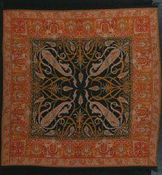 French paisley shawl, ca.1835
