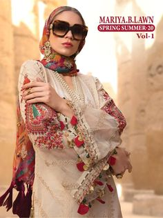 Shree Fabs Mariya B Lawn Spring Summer 20 Vol 1 Pure Cotton Printed With Embroidery Work Pakistani Dress Material At Wholesale Rate Brand Catalog Shree Fabs Mariya B Lawn Spring Summer 20 Vol 1 Pcs 8 AVG. Pakistani Fancy Dresses, Pakistani Fashion Casual, Pakistani Suits, Fancy Sarees, Indian Dresses, Eid Dresses, Bridal Dresses, Fancy Dress Design, Stylish Dress Designs