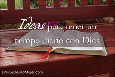 El viaje de una mujer: Ideas para tener un tiempo diario con Dios