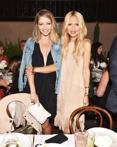 Rebecca Gayheart and Rachel Zoe at Refinery29, CFDA and Neiman Marcus Celebrate Rachel Zoe. See the other celebrities on the mid-April party scene and what they wore.