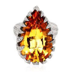 Presentation of House Kyke Yellow Jewelry, Imperial Topaz, Jewelry Design, Unique Jewelry, Glamour, Love Ring, Topaz Ring, Jewelry Collection, Jewelery