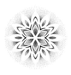 Flower Tattoos, Hand Tattoos, Dots To Lines, Black And White Flower Tattoo, Geometric Pattern Design, Butterfly Tattoo Designs, Geometric Flower, Desenho Tattoo, Mandala Tattoo