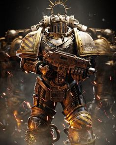 Warhammer 40k Art, Warhammer Models, Warhammer Fantasy, Salamanders 40k, Templer, Starcraft, Space Marine, Fantasy Characters, Character Art