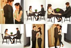 """sandy-sims: """"First Date"""" Pose Pack! Sims 4 Couple Poses, Couple Posing, Sims 4 Stories, Sims 4 Piercings, Sims 4 Family, Manga Poses, Sims Games, Sims 4 Cas, Sims 4 Cc Finds"""