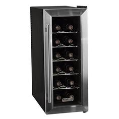 Buy the Koldfront Stainless Steel Direct. Shop for the Koldfront Stainless Steel Koldfront 12 Bottle Stainless Steel Slim-Fit Thermoelectric Wine Cooler - and save. Thermoelectric Wine Cooler, Thermoelectric Cooling, Tall Cabinet Storage, Locker Storage, Wine Storage, Refrigerator Cooler, Wine Chillers, Home Bar Furniture, Thing 1