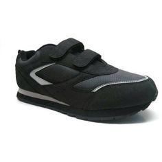 Men's Silver Series Wide Width Shoe, Black