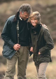 Barbour Sage Beaufort and Olive Bedale - great pair of waxed cotton jackets!~