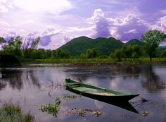 This photo was taken in the late afternoon, near the town Dodosi where every family has it's own small boat