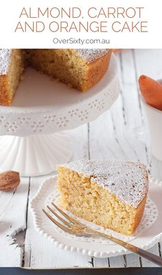 Almond, Carrot and Orange Cake - Take your carrot cake to the next level by adding the delicious taste of orange and almond to your dessert. The good news? This recipe couldn't be any easier.