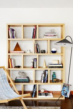 Asymmetrical Angles Bookshelf StylingShelfieHouse