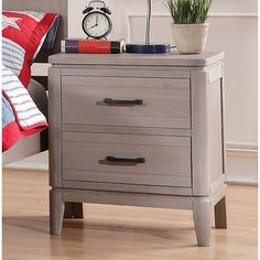 You'll love the 2 Drawer Nightstand at Wayfair - Great Deals on all Furniture  products with Free Shipping on most stuff, even the big stuff.