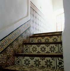 tiles in a Moroccan styled home