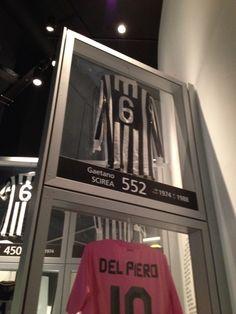 Juventus Museum-Maglia di Gaetano Scirea Juventus Stadium, Juventus Fc
