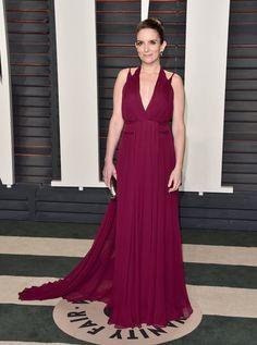 Pin for Later: Voilà Ce Que les Célébrités Ont Fait à L'afterparty des Oscars Tina Fey