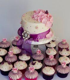 Of Roses Consists Chocolate Cupcakes Pink Vanilla  more at Recipins.com