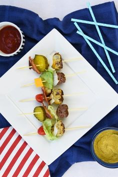 Make a set of Bite-Sized Skewer Burgers using this BBQ-friendly recipe.