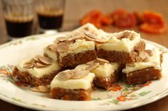 No Bake Apricot, Almond & Ginger Slice