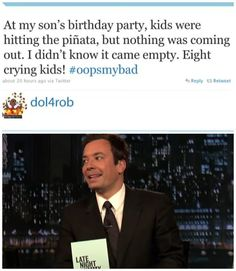 """This #BirthdayPartyFail: 