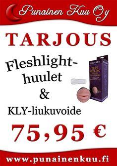 Fleshlight-huulet + KLY-liukuvoide 75,95 €
