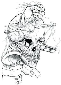 Pushead Metallica artwork