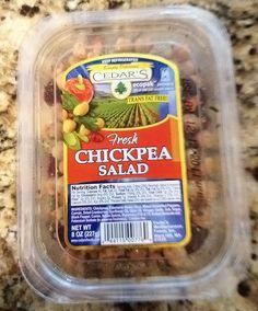 Publix Deli Cedar's Chickpea Salad yum yum...