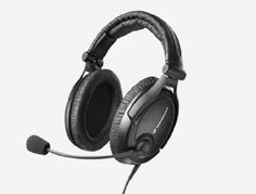 Sennheiser HME95 Aviation Headset by Sennheiser. $237.99. The HME 95 is an entry level headset with passive noise attenuation that is good value for your money. With volume control, audio-in, and cell-phone in.  Package Includes: - HME 95 Headset - Carrying bag for the headset - Cable clip - 2 wind and pop screens - User manual - Audio-In cable 0.60 m, 3.5 --> 3.5 mm jacks - Cell phone adapter cable 0.60 m, 2.5 --> 2.5 mm jacks