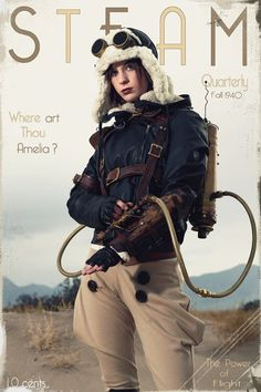 I fell like such an asshole cause whenever I see Amelia Earhart all I can think is that she proved women CAN'T do everything men can.