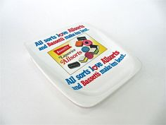 Allsorts Bassetts Candy Tray by Ornamin by worldvintage on Etsy