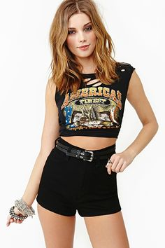Knockout Shorts in Clothes Bottoms Shorts at Nasty Gal