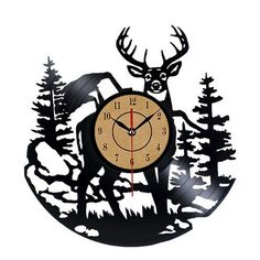 Wall Clock, Timelike Creative Design Vinyl Record Clock Frameless CD Wall Clock - Decorate Your Home with Unique Wall Clock - Best Gift for Home Decor >>> Special  product just for you. See it now! : home diy wall