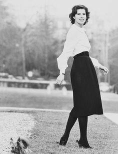 L'album photo de Fanny Ardant