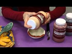 How to glaze demo...great video to show class before glazing!