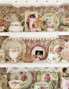 Rosy shelves