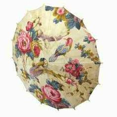 So beautiful umbrella.
