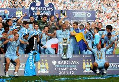 mancity - well deserved premier league champions after a thrilling match :) Chelsea Name, Le Champion, Queens Park Rangers, Premier League Champions, Barclay Premier League, English Premier League, Premier League Matches, Kansas City Chiefs, Manchester City