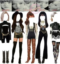 Kpop Fashion Outfits, Girls Fashion Clothes, Stage Outfits, Dance Outfits, Girl Fashion, Girl Outfits, Polyvore Outfits, Outfit Sets, My Outfit